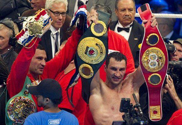 Володимир Кличко переміг Девіда Хея. Фотозвіт