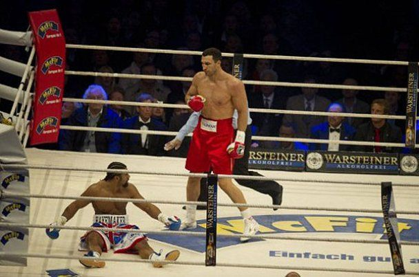 Владимир Кличко: я пытался нокаутировать Хэя (видео)