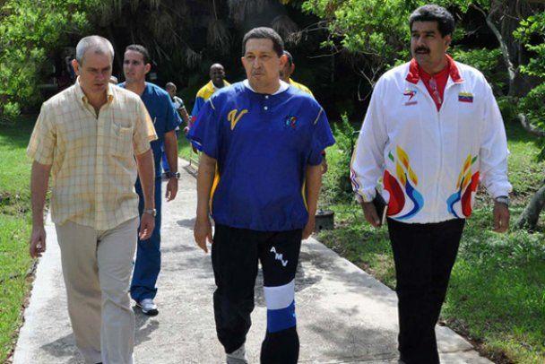 Кубинський сайт опублікував фото Чавеса після операції
