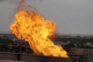 У Єгипті невідомі підірвали газопровід, що транспортує газ до Ізраїлю