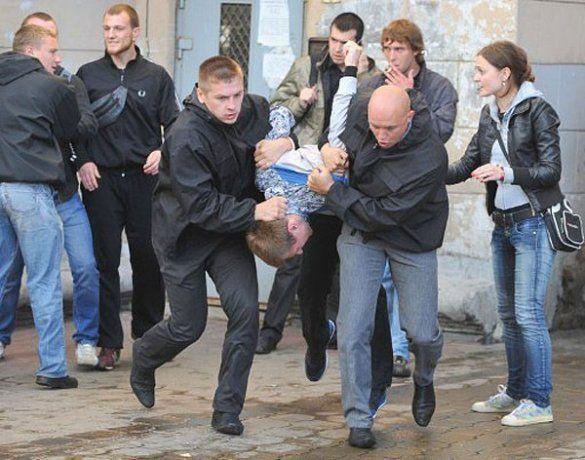 Розгон акції протесту в Мінську на День незалежності Білорусі_5