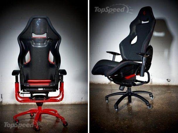 Ferrari выпустила сексуальные офисные стулья за 25 тысяч долларов