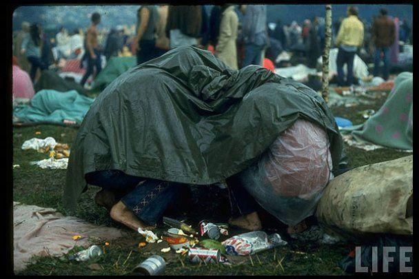 """Унікальні фото фестивалю """"Вудсток 1969"""" від журналу Life"""