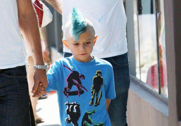 Гвен Стефані зробила синові блакитний ірокез