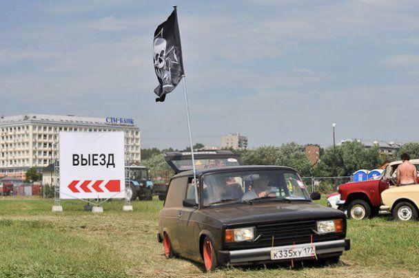 """Юбилейное шоу """"Автоэкзотика-2011"""" в Москве"""