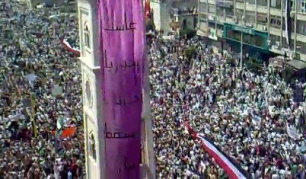 Армия взяла в осаду сирийский город Хама, который выступил против президента
