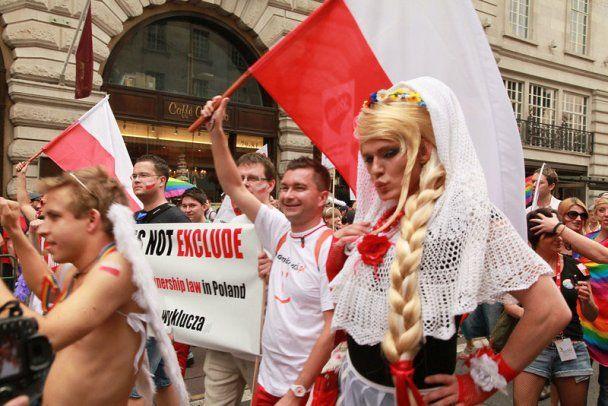 Екс-мер очолив 100-тисячний гей-парад у Лондоні