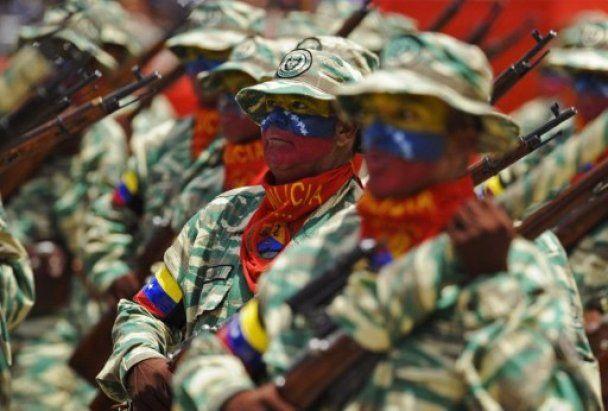 У Венесуелі пройшов безпрецедентний за своїми масштабами військовий парад