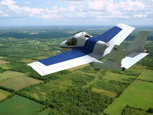 На дорогах США появится первый летающий автомобиль-трансформер