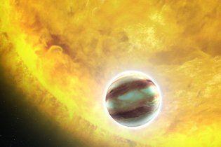 Hubble сделал снимок гигантской планеты, на которой может быть вода