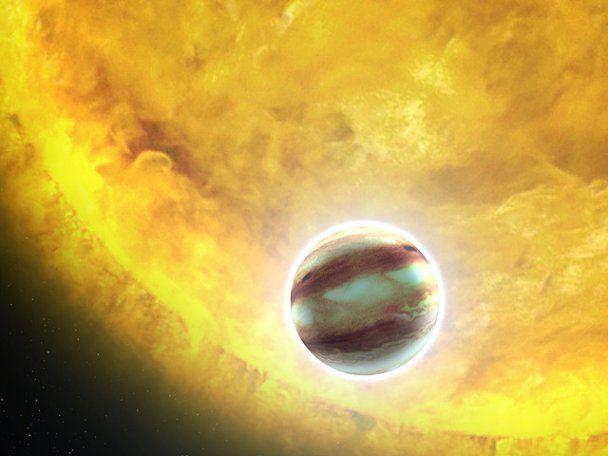 Hubble зробив знімок гігантської планети, на якій може бути вода