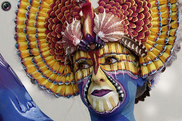 Всесвітній фестиваль боді-арту в Австрії