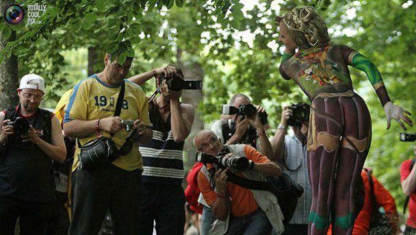 Всемирный фестиваль боди-арта в Австрии