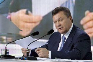 Президент Янукович заверил, что не вмешивается в дело Тимошенко