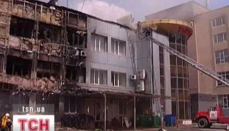 В Макеевке горел торгово-развлекательный центр