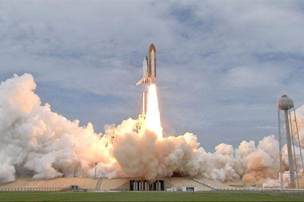 Американський шатл востаннє в історії полетів у космос