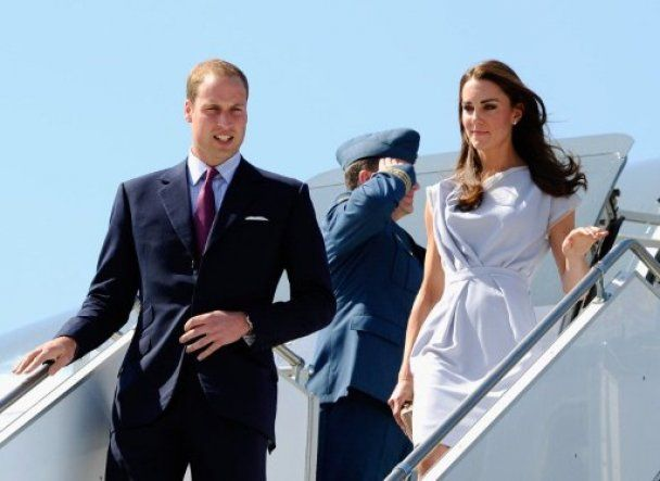 Принц Вільям з дружиною розпочали перший офіційний візит до США
