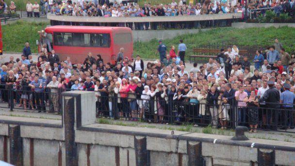 """Знайдені тіла 112 загиблих з затонулого теплохода """"Булгарія"""""""