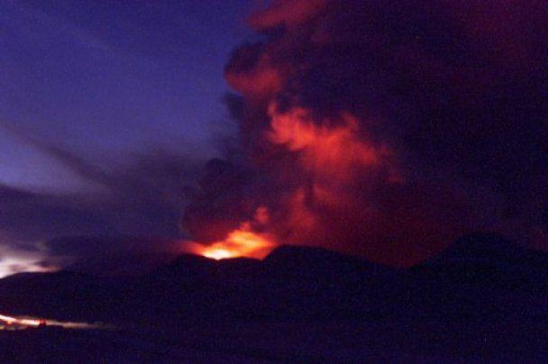 В Ісландії прокинулися одразу два вулкани