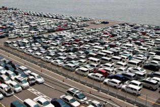 Украинцы купили в августе рекордное количество автомобилей