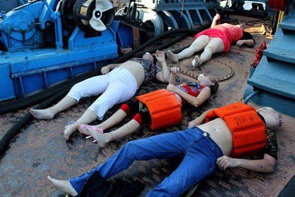 Жалоба за жертвами затонулого теплохода Булгарія в Росії_16