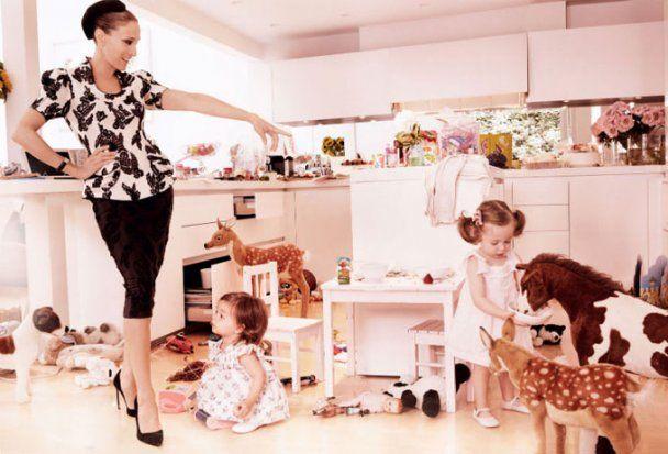Семейная фотосессия Сары Джессики Паркер для Vogue US