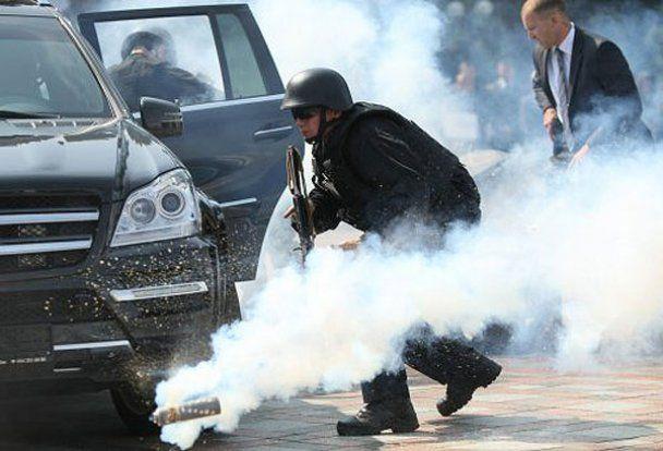 Охорона Януковича виступила на турнірі тілоохоронців