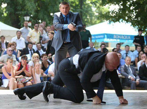 Охрана Януковича выступила на турнире телохранителей