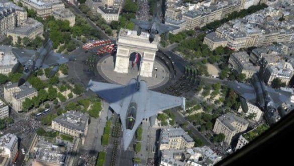 День взяття Бастилії, Франція. Парад_7