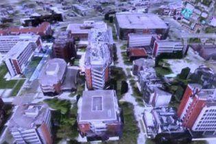 В США появится виртуальная карта будущего с авто и пешеходами в реальном времени