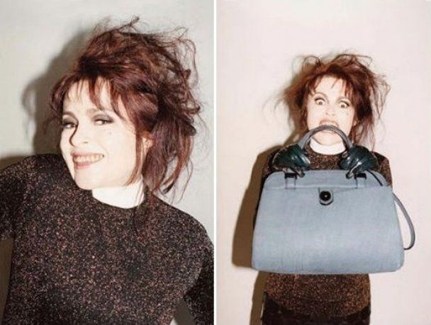 Хелена Бонем Картер влаштувала шалену фотосесію для Marc Jacobs