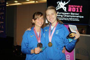 Українські шаблістки тріумфували на чемпіонаті Європи