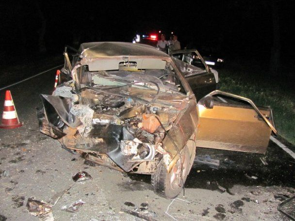 В ДТП на Херсонщині загинули 4 особи, ще троє поранені