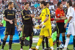 """Мадридський """"Реал"""" розгромив американських зірок на чолі з Бекхемом"""