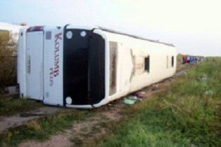 В Румынии перевернулся автобус с украинскими школьниками: 14 пострадавших