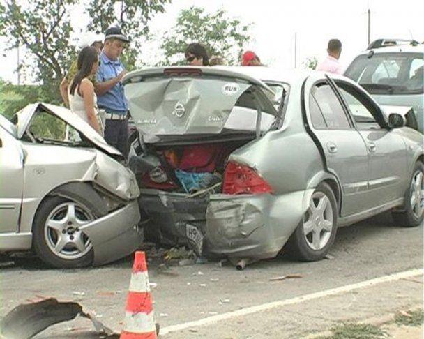 Під Мелітополем сталася ДТП за участю 7 авто: 5 людей постраждали