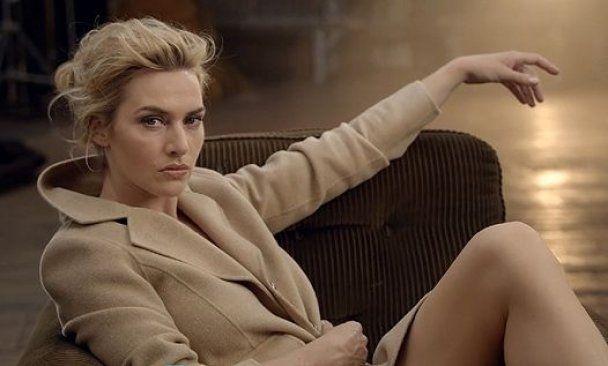 Кейт Вінслет поєднала елегантність і шик в рекламі одягу
