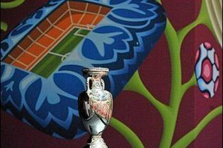 До Києва привезли Кубок Європи з футболу