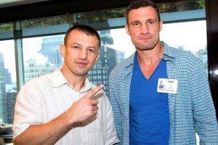 Віталій Кличко познущався над Адамеком у Нью-Йорку