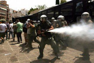 Грецькі студенти захопили студію державного телеканалу