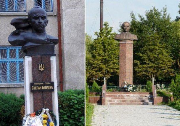 В Украине установлено 17 монументов Бандере