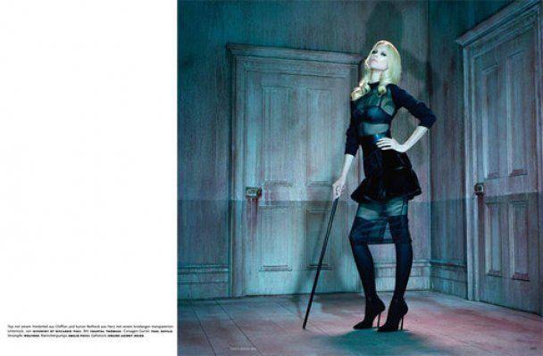 Клаудия Шиффер в новом Vogue стала мечтой мазохиста