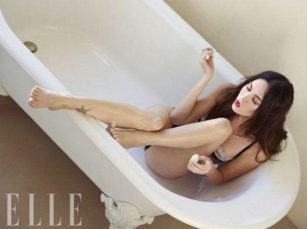 Меган Фокс оголила ягодицы для китайского Elle