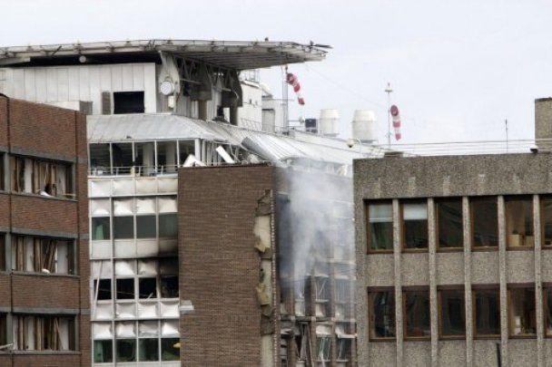 Оприлюднено перше відео моменту вибуху в Осло