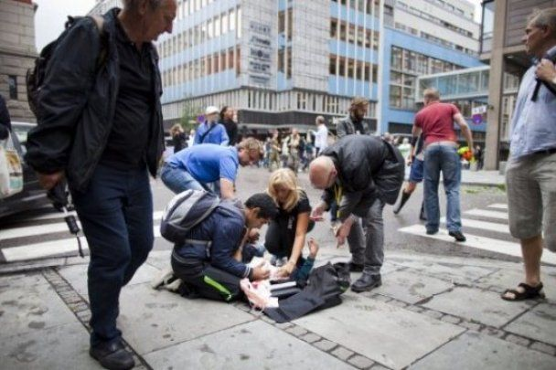 Взрыв в правительственном квартале Осло признан терактом