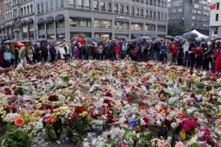 150 тисяч людей вийшли на вулиці Осло вшанувати пам'ять жертв теракту