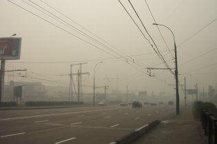 Москву знову затягує смогом від лісових пожеж