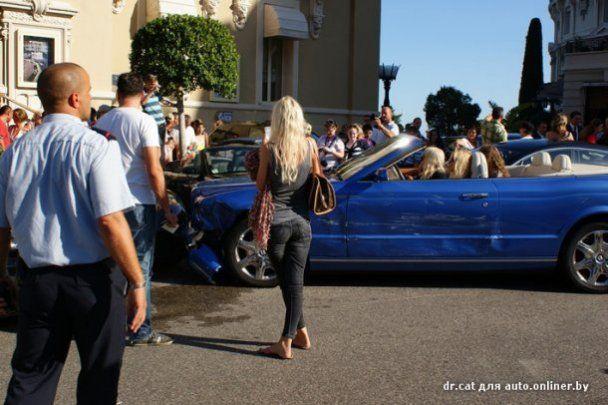 В Монако произошла VIP-авария: повреждены Bentley, Aston Martin, Ferrari, Porsche и Mercedes