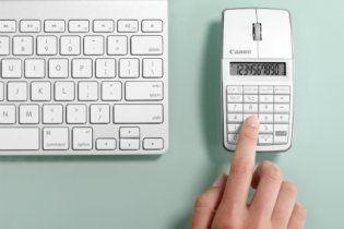 """У компанії Canon вдало """"схрестили"""" мишку, клавіатуру та калькулятор"""