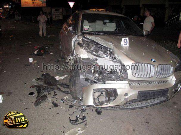 Под Киевом пьяный чиновник на Lexus устроил ДТП со смертельным исходом